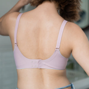 Perfect Shape! Seamless Wireless Push Up Bra in Blush