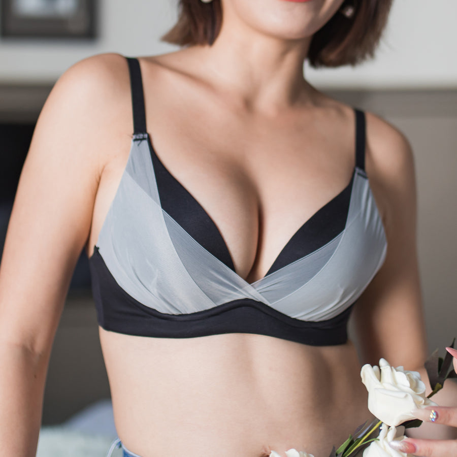 Perfect Fit! Wireless Bra in Monotone