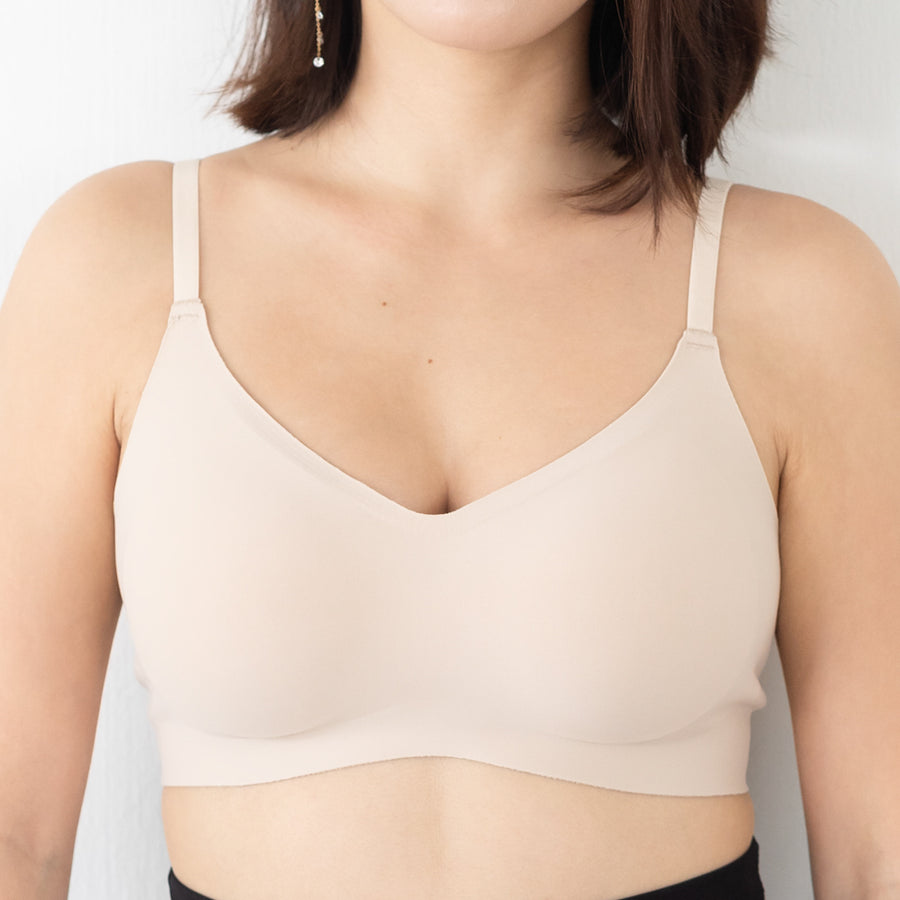 *BACKORDER OPEN* Air-ee Bra in Nude - Thin Straps (Superfine Cotton)