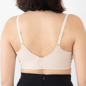 Air-ee Bra in Nude - Thin Straps (Superfine Cotton)