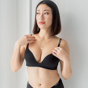 *RESTOCKED* Everyday Hustle Wireless T-Shirt Bra in Black