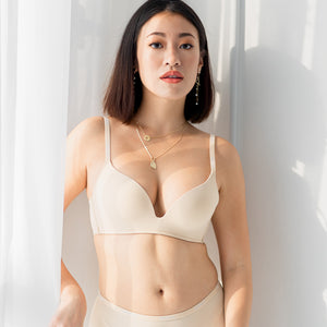 *RESTOCKED* Everyday Hustle Wireless T-Shirt Bra in Nude