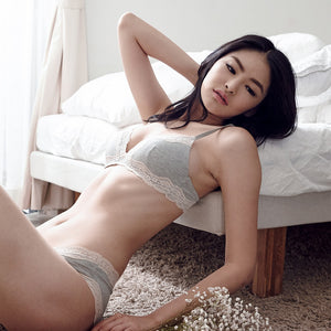 *RESTOCKED* Love Bite Everyday T-Shirt Bra in Grey (Wireless)