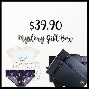 Mystery Gift Box 3 (1 Cheekies, 1 Lounge Shorts, 1 Tee) - I'M IN  -  i m i n x x . c o m - 1