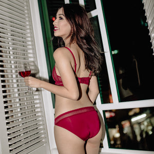 Bold & Sexy Bikini Cheeky in Spicy Red (Size S Only)