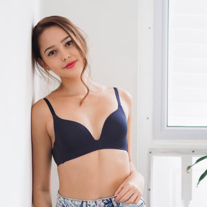 Everyday Carefree Wireless T-Shirt Bra in Twilight Blue