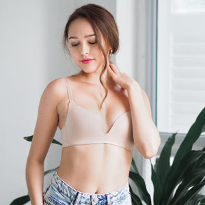 Everyday Carefree Wireless T-Shirt Bra in Vanilla Nude