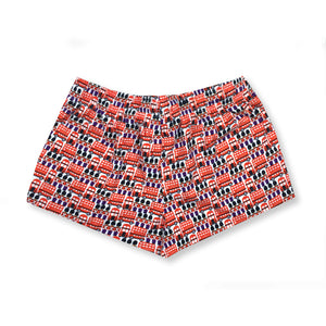 Buckingham Palace Lounge Shorts - I'M IN  -  i m i n x x . c o m - 4