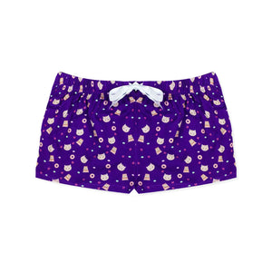 Midnight Von Litter Lounge Shorts - I'M IN  -  i m i n x x . c o m - 1
