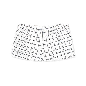 Walk On Grid Lounge Shorts - I'M IN  -  i m i n x x . c o m - 6
