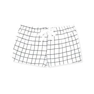 Walk On Grid Lounge Shorts - I'M IN  -  i m i n x x . c o m - 2