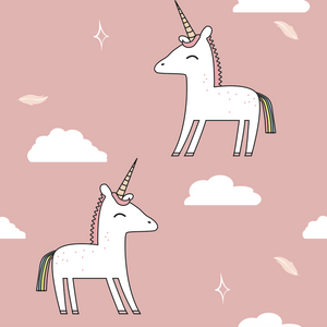 Little Charming Unicorns Hiphugger Cheeky (Pink)