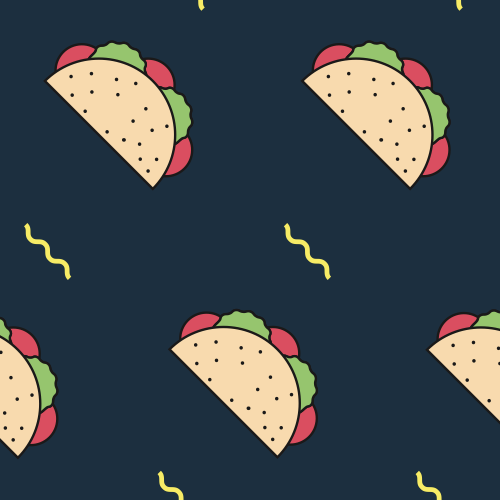 Mexicano Taco Belle Hipster Cheeky