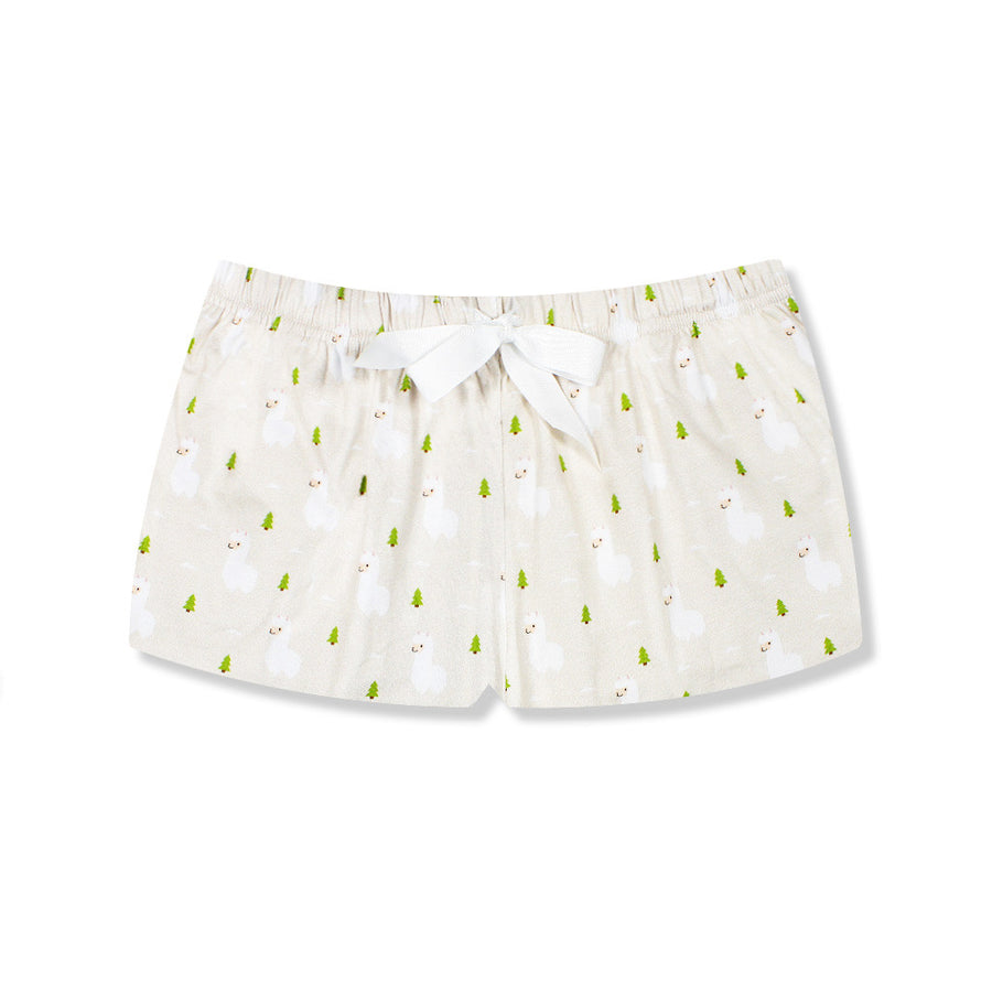 Alpacapella Lounge Shorts - I'M IN  -  i m i n x x . c o m - 1