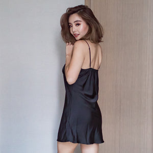 *BACKORDER OPEN* Nap Queen! Slumberwear Nightgown in Black Beauty