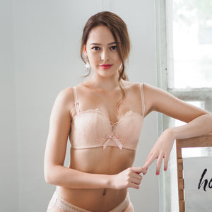 Oh-So-Gorgeous! Wireless Super Push Up Bra