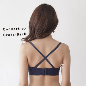 4th Gen X 100% Non-Slip Wireless Strapless Bra in Grey