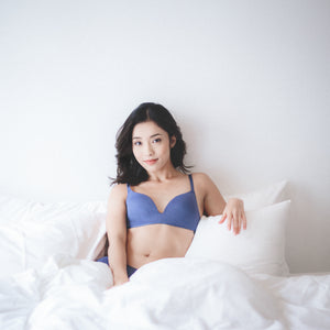 Seamlessly Perfect Wireless Everyday T-Shirt Bra (Royal Blue)