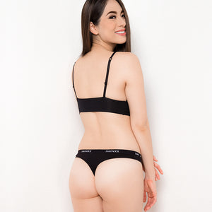 I'M IN Everyday Peek-a-boo Thong (Size S & M only)