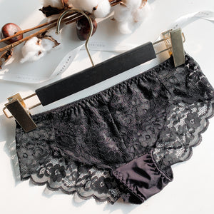 Irresistibly Cosy Cheeky in Black