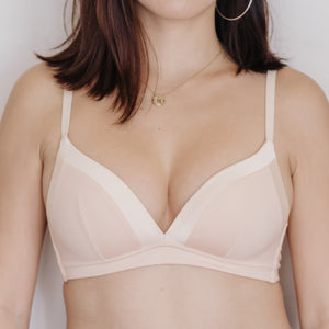 Basic Soft Freedom Wireless Bra (Modal® Fabric) in Nude