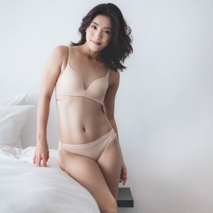 Everyday Carefree Wireless Everyday T-Shirt Bra (Nude)