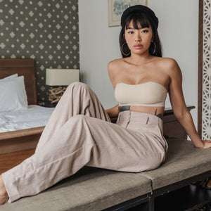 *BACKORDER OPEN* Essential Stylish Chic 2-Way Wireless Bandeau in Nude