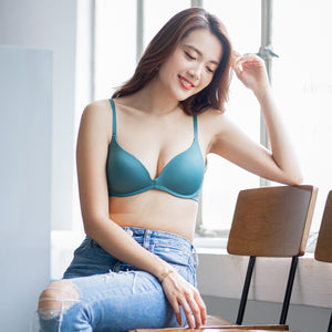 Everyday Staple Lightly-Lined Wireless Bra in Seafoam