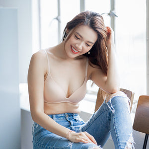 Everyday Staple Lightly-Lined Wireless Bra in Nude