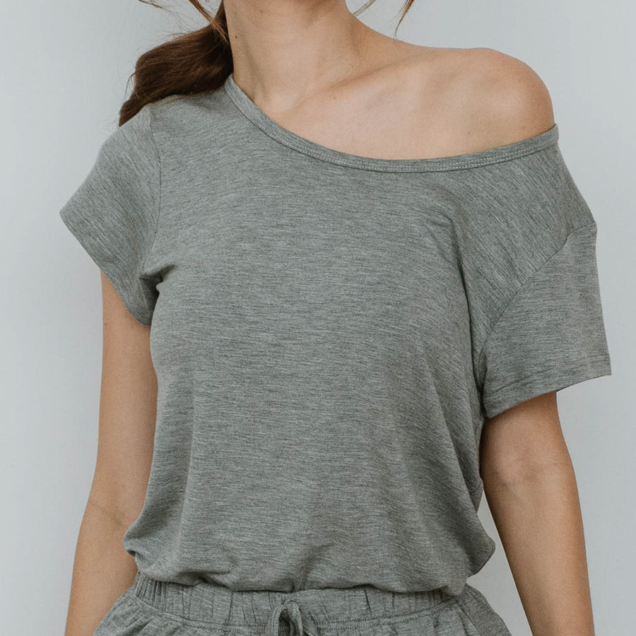 Everyday Modal® Fabric Loungewear set in Gray
