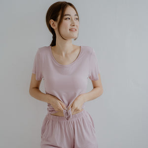 Everyday Bra-less Loungewear set (Modal® Fabric) in Lilac
