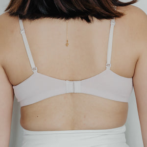 All-Day Comfort Lace Bralette V2.0 In Light Blush