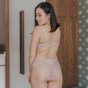 Dreamy Polka Dot! Comfy Cheeky in Blush