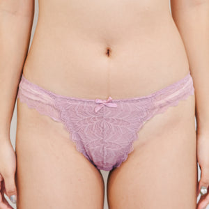 Flutter In Style! Comfy Cheeky in Lilac