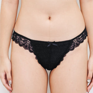 Flutter In Style! Comfy Cheeky in Black
