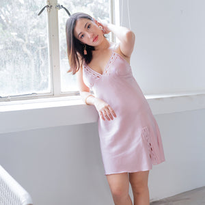 Slumber Queen! Nightgown in Radiant Pink