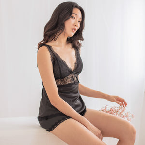 Cozy Cuddle! Slumberwear Set in Black
