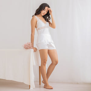 Cozy Cuddle! Slumberwear Set in Pearl White