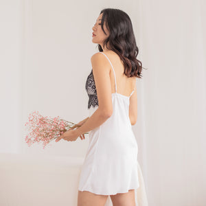Sweet as Pie! Slumberwear Nightgown in Pearl White