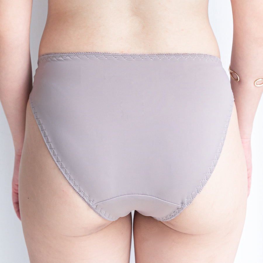 Effortlessly Fresh! Comfy Cheeky in Muted Grey