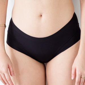 *RESTOCKED* The Seamless Comfy Cheeky in Black