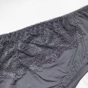 Laced It Up! V2.0 Bikini Cheeky in Black