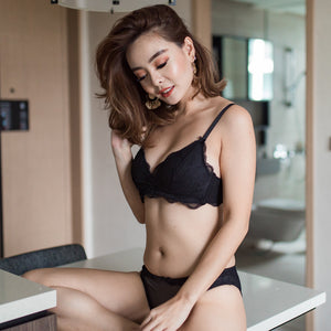 Essential Wireless T-Shirt Bra in Black (Size S Only)