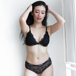 *RESTOCKED* I'M IN Naked Signature Premium Bralette (Mystery Black)