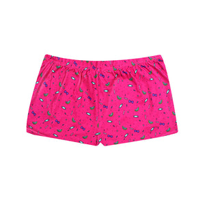 Bubblegum Rainbows Lounge Shorts - I'M IN  -  i m i n x x . c o m - 4