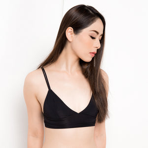 Classic Everyday Snuggle Black Bralette