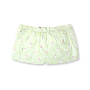 Little Fluttersparkles Unicorn Lounge Shorts - I'M IN  -  i m i n x x . c o m - 4
