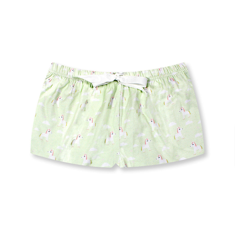 Little Fluttersparkles Unicorn Lounge Shorts - I'M IN  -  i m i n x x . c o m - 1