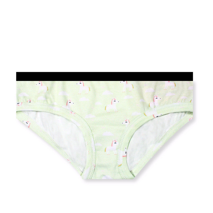 Little Fluttersparkles Unicorn Boyleg Cheeky (Minty Green) - I'M IN  -  i m i n x x . c o m - 1