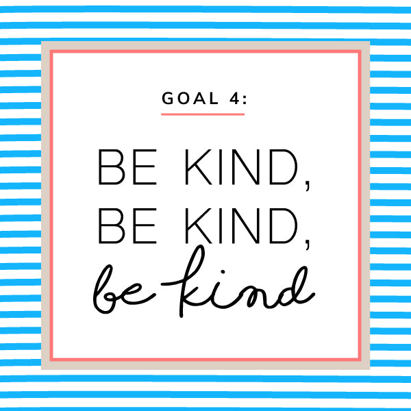 be kind - A Maisha New Year –